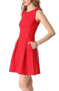 Alice By Temperley Red Darcy Dress