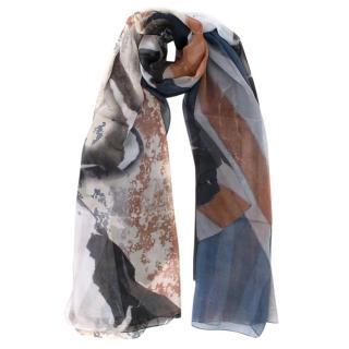 Alexander McQueen Heirloom Silk Printed Scarf