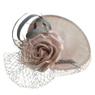Jane Taylor Rose & Tulle Embellished Occasion Hat