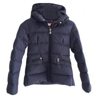 Moncler Kids Navy Puffer Jacket