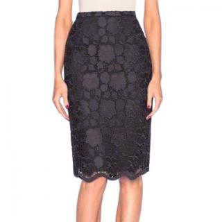 No.21 black lace EDNA skirt