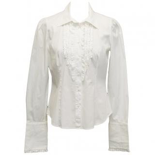 Maxmara white shirt