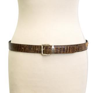 Beverly leather belt