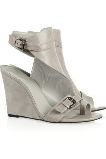 NEW! Karl Lagerfeld wedge sandals