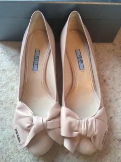Prada  blush shoes