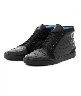 Dorraj London New Luxury Real Ostrich Leather Men Shoes