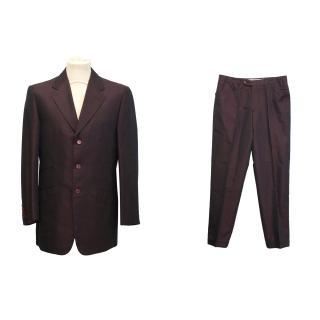 Yves Saint Laurent silk suit