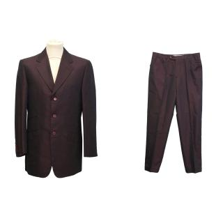 Yves Saint Laurent silk suit