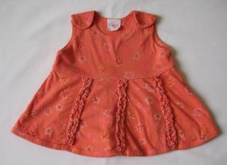 Oilily cotton baby dress, Continental size 56 cm