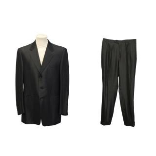 Yves Saint Laurent Charcoal suit