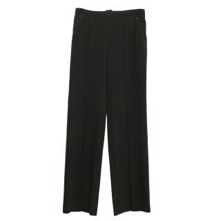 Sportmax black trousers