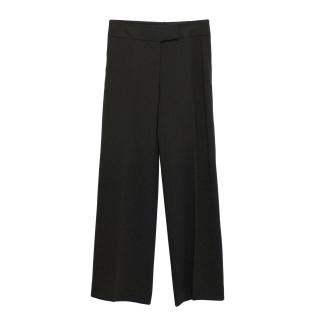 'S Maxmara dark brown trousers