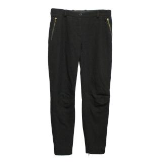 Lanvin wool blend trousers