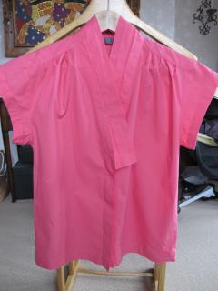 MCQ Alexander McQueen pink cotton shirt