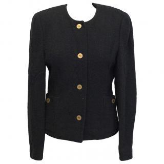 Regina Rubens boucl� black blazer