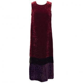 Philosophy Alberta Ferretti Velvet Dress