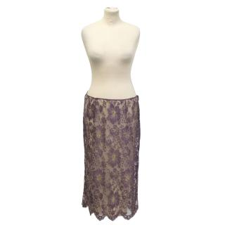 Collette Dinnigan lace skirt