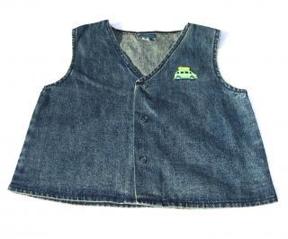 Marese  denim sleeveless waistcoat , age 3, Continental size 94