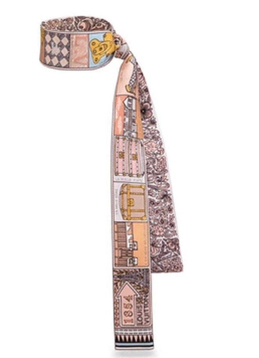 Louis Vuitton limited edition silk scarf/bandeau