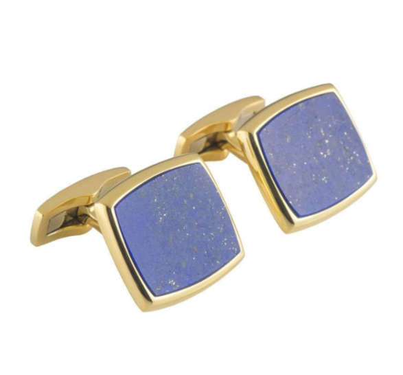 Piaget Blue Cufflinks set in gold
