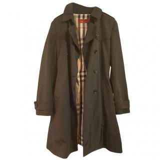 Burberry Black Classic Trench Coat