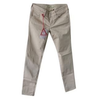 Jacob Cohen Sand Hand Tailored Jeans