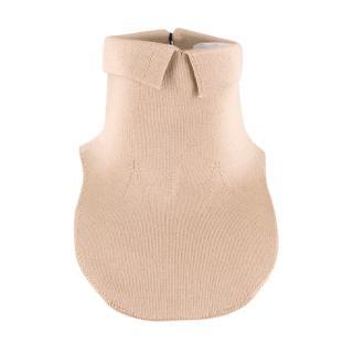 Prada Nude Silk Collar