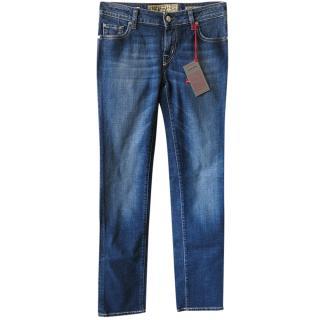 Jacob Cohen 711 Hand Tailored Blue women's Jeans