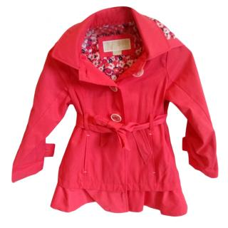 Michael Michael Kors Pink Girls Hooded Coat