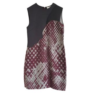 3.1 Philip Lim Disintegrating Patchwork Sleeveless Dress