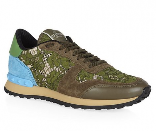 Valentino Rockrunner Lace Trainers