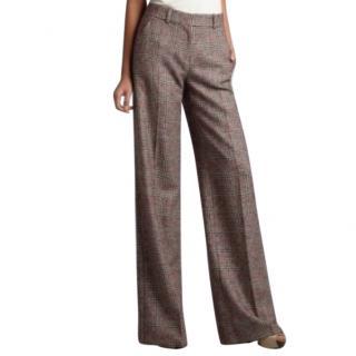 Celine Grey Wool Tailored Pants