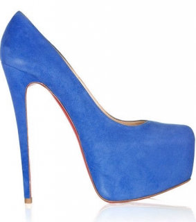 Christian Louboutin Blue Daffodile 160mm Pumps