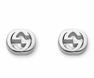 Gucci Silver GG Earrings