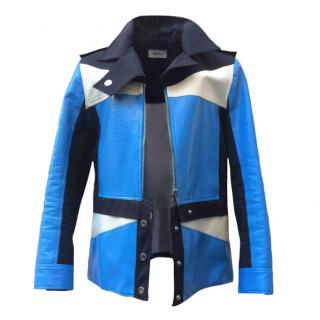 Courreges Colourblock Vinyl jacket