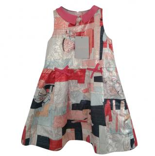 Emilio Pucci Girl's Geometric Printed Dress