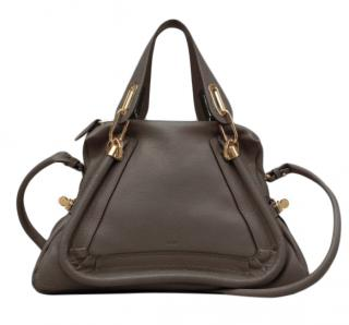 Chloe Brown Leather Small Paraty Bag