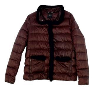 Max Mara Black Down Puffer Jacket