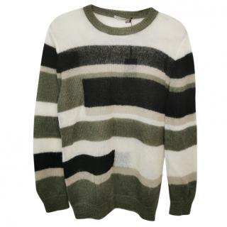 Ermanno Scervino Mohair Striped Jumper