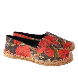 Dolce & Gabbana floral print espadrilles