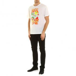 Stella McCartney Nice One white t shirt