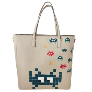 Anya Hindmarch Space Invaders Tote Bag