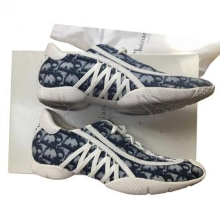 Dior Vintage Oblique Lace-Up Sneakers