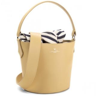 Weekend Max Mara Lemon Yellow Bucket Bag