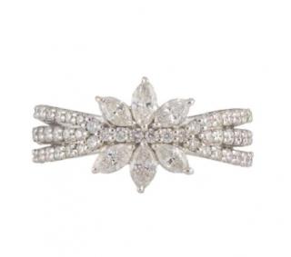 Bespoke White Gold Diamond Ring