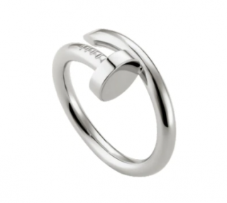 Cartier 18k White Gold Juste Un Clou Ring