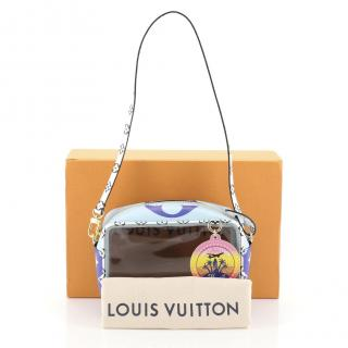 Louis Vuitton Blue Monogram canvas  Beach Pouch