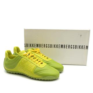 Dirk Bikkemberg Low Rise Green Lace-up sneakers