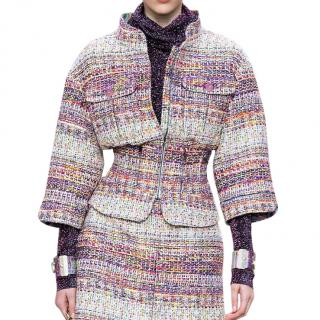 Chanel Supermarket Collection Tweed Multi-Coloured Jacket
