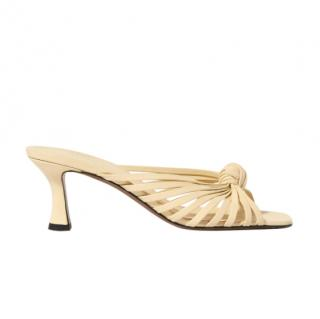 Neous Lottis knotted leather sandals - new season